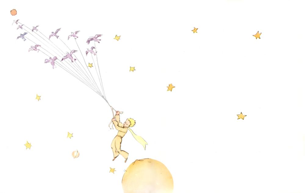 星の王子さま イラスト